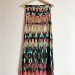 Anthropologie Boho Skirt